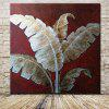 Mintura MT160368 Unframed Banana Leaves Oil Painting - COR MISTURA