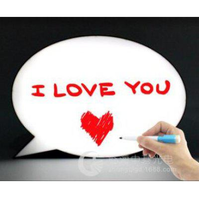 LED Handwriting Light Box Erasable Message Board with 3 Pens
