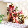 Wall Hanging Art Decor Christmas Gifts Print Tapestry - RED