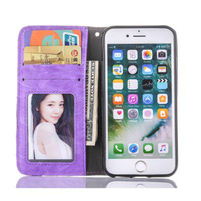 Retro PU Leather Phone CaseiPhone Cases/Covers<br>Retro PU Leather Phone Case<br><br>Compatible for Apple: iPhone 7<br>Features: Anti-knock, Cases with Stand, FullBody Cases, Wallet Case, With Credit Card Holder<br>Material: PU Leather<br>Package Contents: 1 x Phone Case<br>Package size (L x W x H): 16.00 x 9.00 x 3.00 cm / 6.3 x 3.54 x 1.18 inches<br>Package weight: 0.0700 kg<br>Product size (L x W x H): 14.00 x 7.50 x 2.00 cm / 5.51 x 2.95 x 0.79 inches<br>Product weight: 0.0670 kg<br>Style: Cool, Retro, Solid Color, Pattern