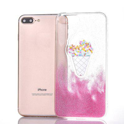 Stylish Drawing TPU Glitter Powder Case for iPhone 7iPhone Cases/Covers<br>Stylish Drawing TPU Glitter Powder Case for iPhone 7<br><br>Compatible for Apple: iPhone 7<br>Features: Back Cover<br>Material: TPU<br>Package Contents: 1 x Protective Back Case<br>Package size (L x W x H): 16.00 x 8.00 x 1.00 cm / 6.3 x 3.15 x 0.39 inches<br>Package weight: 0.0450 kg<br>Product size (L x W x H): 15.50 x 7.50 x 0.70 cm / 6.1 x 2.95 x 0.28 inches<br>Product weight: 0.0430 kg<br>Style: Novelty, Pattern, Glamorous Glitter, Ultra Slim, Sweet