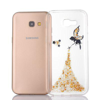 TPU Angel Style Glitter Star Phone Case for Samsung Galaxy A520Samsung A Series<br>TPU Angel Style Glitter Star Phone Case for Samsung Galaxy A520<br><br>Features: Back Cover<br>For: Samsung Mobile Phone<br>Material: TPU<br>Package Contents: 1 x Stylish Case<br>Package size (L x W x H): 16.00 x 8.00 x 1.20 cm / 6.3 x 3.15 x 0.47 inches<br>Package weight: 0.0300 kg<br>Product size (L x W x H): 14.50 x 7.00 x 1.00 cm / 5.71 x 2.76 x 0.39 inches<br>Product weight: 0.0280 kg<br>Style: Special Design, Sweet, Fashion, Ultra-thin