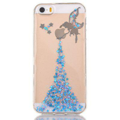 Buy BLUE Faddish Phone Cover Case for iPhone 5 / 5S for $4.20 in GearBest store