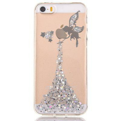 Buy SILVER Faddish Phone Cover Case for iPhone 5 / 5S for $4.20 in GearBest store