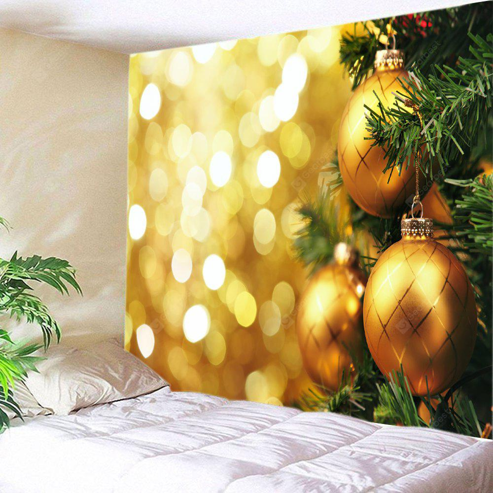 Wall Hanging Art Christmas Hanging Baubles Print Tapestry