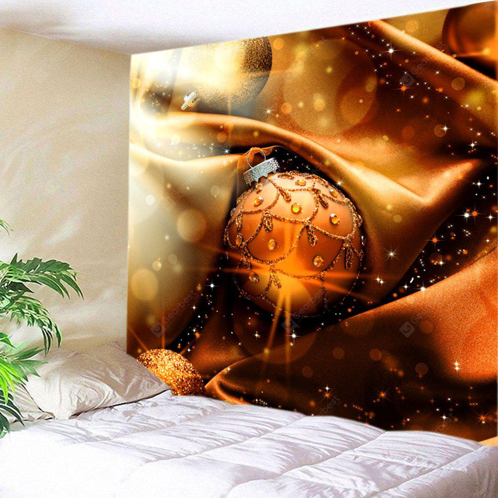 Wall Hanging Decor Christmas Bauble Print Tapestry