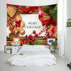 Wall Hanging Art Merry Christmas Cookies Print Tapestry - COLORMIX
