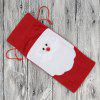 Santa Claus Christmas Wine Bottle Decoration Cloth - RED