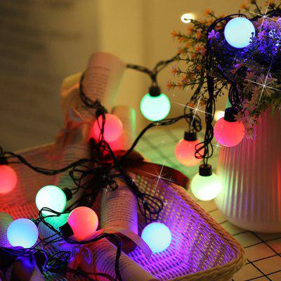 50 LEDs Small Bead Christmas Tree String Lights