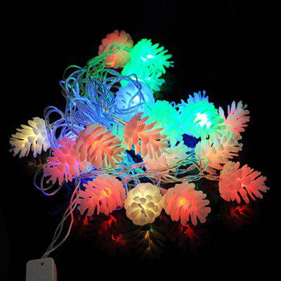 20 LEDs Pineal Shape Christmas Tree String Lights