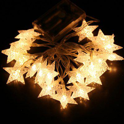 20 LEDs Christmas Tree String Light with Star Shape