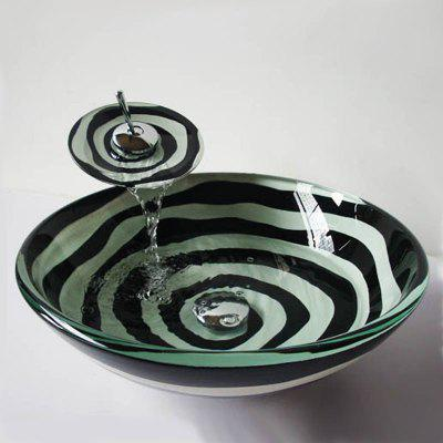 Creative Contemporary Art Style Waterfall Faucet