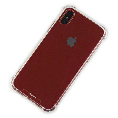 Slim TPU PC Phone Case for iPhone X Anti-drop Mobile Cover