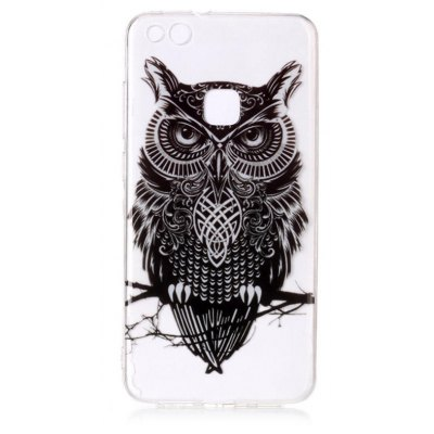 Buy COLORMIX Owl Theme TPU Phone Soft Case for HUAWEI P10 Lite for $2.84 in GearBest store