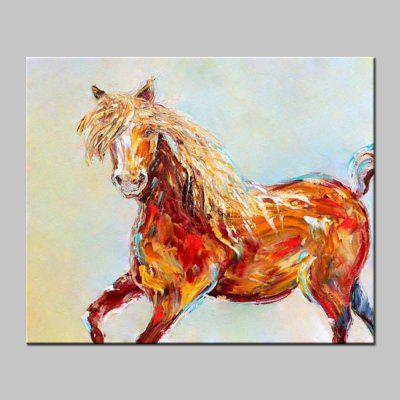 Buy COLORMIX Mintura Modern Canvas Oil Painting Horse Abstract Wall Art for $60.91 in GearBest store