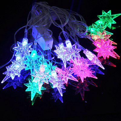 20 LEDs Decoration Colored Lamp with Star Shape