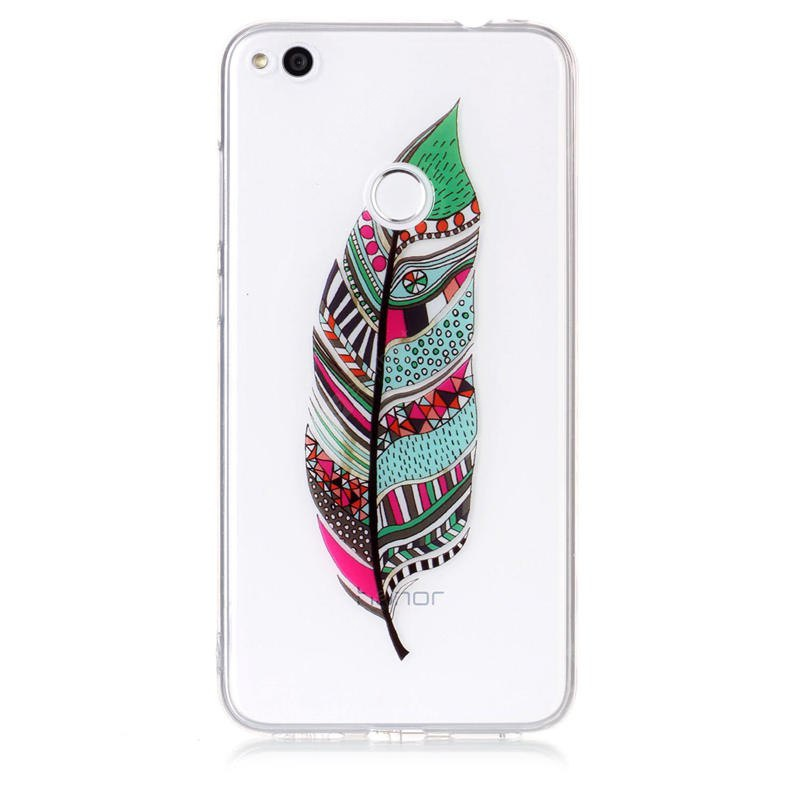 Feather Pattern IMD HD Housse pour HUAWEI P8 Lite 2017