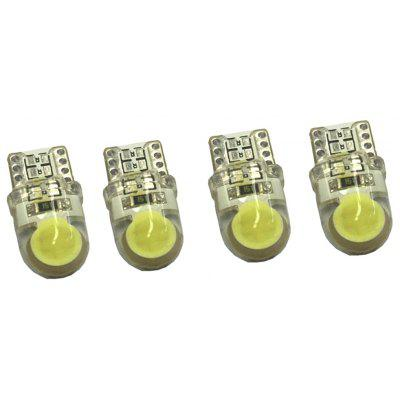 2W T10 COB Auto Car Turn Light Luz de licença 12V 4pcs