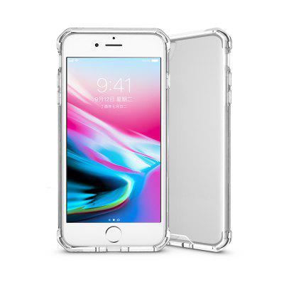 Ultra Clear Acrylic + TPU Rear Mobile Cover for iPhoneiPhone Cases/Covers<br>Ultra Clear Acrylic + TPU Rear Mobile Cover for iPhone<br><br>Compatible for Apple: iPhone 7 Plus, iPhone 8 Plus<br>Features: Anti-knock, Back Cover, Button Protector, Smart Case<br>Material: Acrylic, TPU<br>Package Contents: 1 x Cellphone Case<br>Package size (L x W x H): 17.50 x 9.30 x 2.10 cm / 6.89 x 3.66 x 0.83 inches<br>Package weight: 0.0350 kg<br>Product size (L x W x H): 16.50 x 8.30 x 1.10 cm / 6.5 x 3.27 x 0.43 inches<br>Product weight: 0.0330 kg<br>Style: Modern, Ultra Slim, Cool