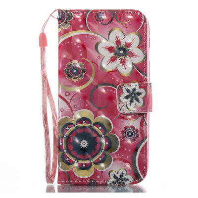 Wonderful Flower Pattern Cover Case for iPhone 7