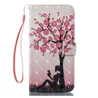 Fashion Girl Pattern Design 3D Painting Phone Case for iPhone 7 Plus