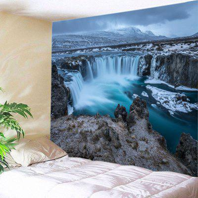Wall Hanging Art River Waterfall Print Tapestry