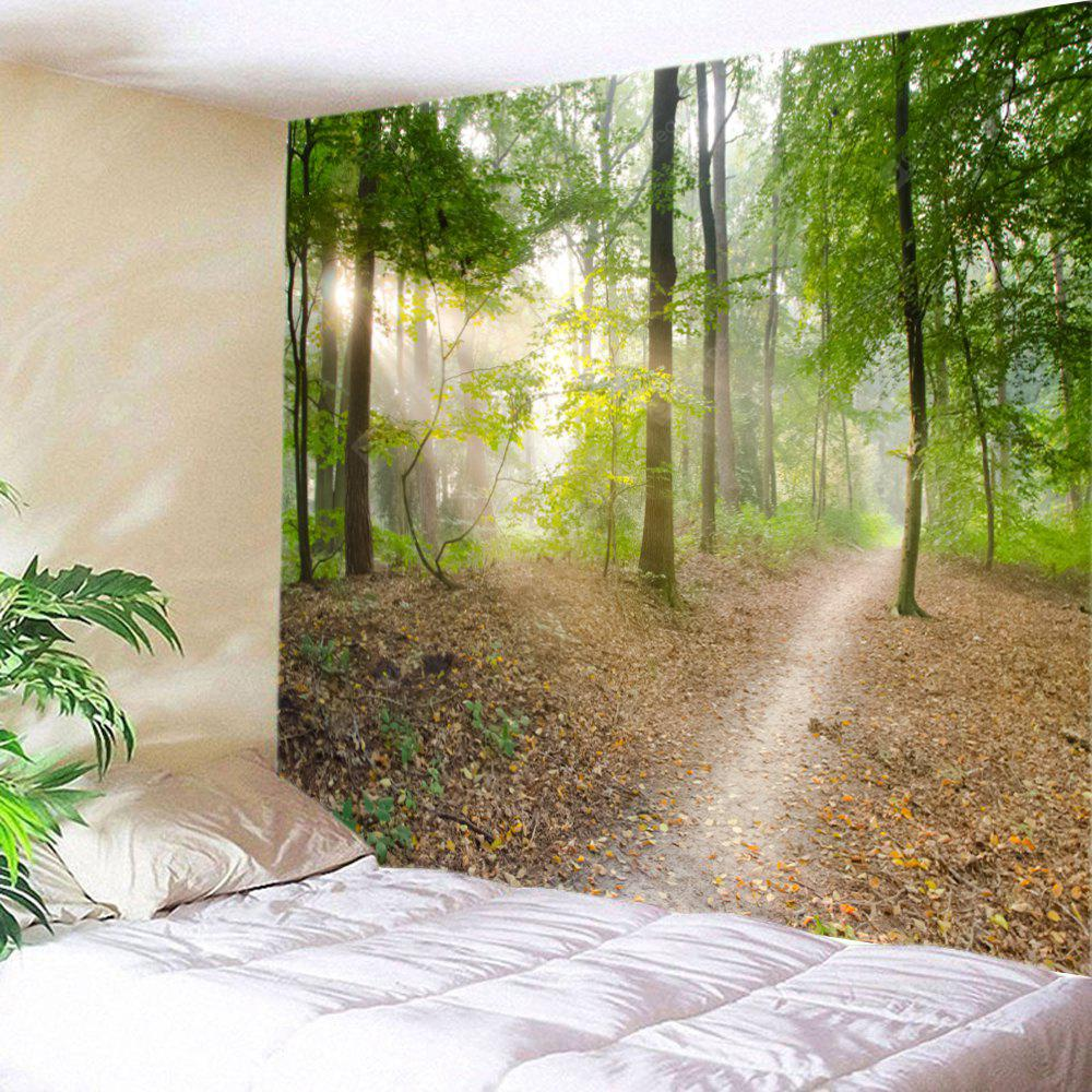 Wall Hanging Decor Forest Track Print Tapestry