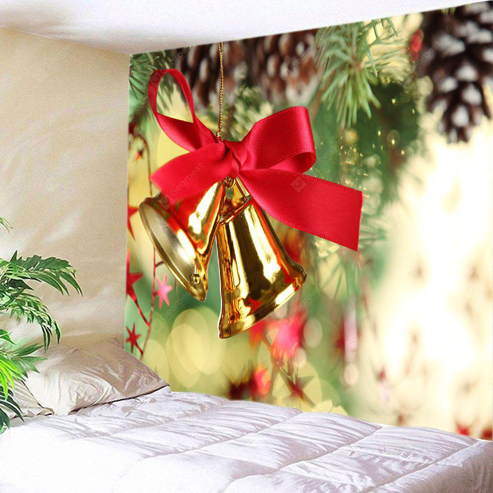 Wall Hanging Decor Christmas Bells Print Tapestry