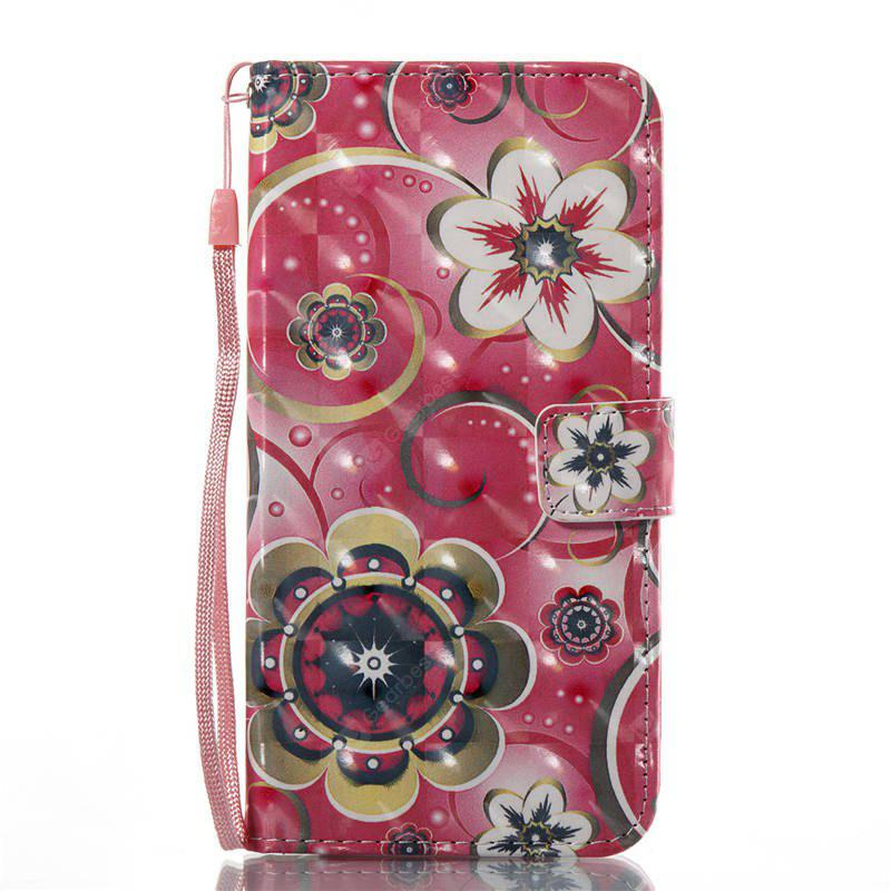 Funda de diseño de flores para el iPhone 8 Plus