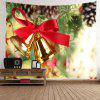 Wall Hanging Decor Christmas Bells Print Tapestry - COLORMIX