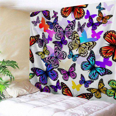 Buy COLORFUL Colorful Butterfly Print Wall Art Tapestry for $22.02 in GearBest store