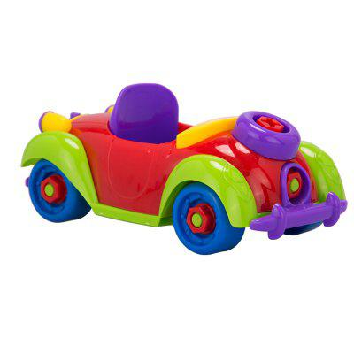 DIY Disassembly Assembly Car SetOther Educational Toys<br>DIY Disassembly Assembly Car Set<br><br>Age: 6 Years+<br>Applicable gender: Unisex<br>Design Style: Cartoon<br>Features: Educational, DIY<br>Gender: Unisex<br>Material: Plastic<br>Package Contents: 1 x Set of Toys<br>Package size (L x W x H): 20.00 x 11.00 x 10.00 cm / 7.87 x 4.33 x 3.94 inches<br>Package weight: 0.1480 kg<br>Product size (L x W x H): 19.00 x 10.00 x 9.00 cm / 7.48 x 3.94 x 3.54 inches<br>Product weight: 0.1450 kg<br>Small Parts: Yes<br>Type: Intelligence toys<br>Washing: No