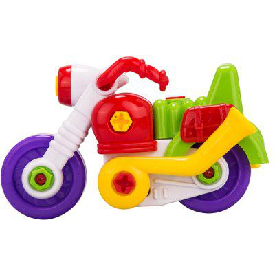 Assembled Motorcycle Educational Toy  for Kids