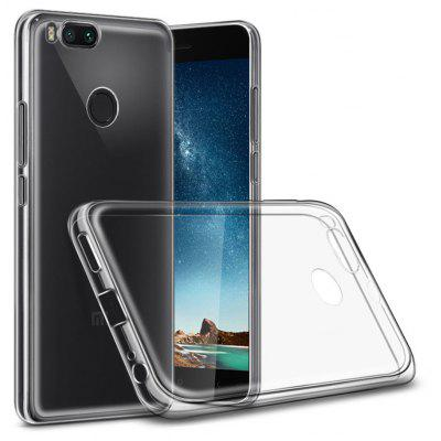 Buy TRANSPARENT Naxtop Transparent Phone Cover Case for Xiaomi Mi 5X for $2.50 in GearBest store