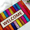 Creative Rubber Floor Mat Anti-slip Welcome Printed Carpet - COLORMIX
