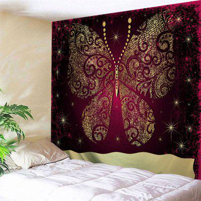 Buy COLORMIX Wall Decor Butterfly Print Bedroom Tapestry for $22.02 in GearBest store