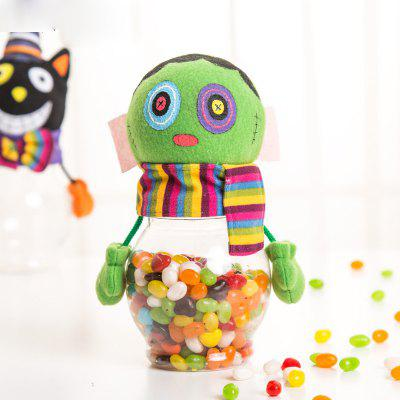 Macroart Halloween Candy Jar Trick or Treat Party Pot
