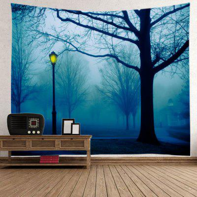 Wall Hanging Art Park Streetlight Print TapestryTapestries<br>Wall Hanging Art Park Streetlight Print Tapestry<br><br>Feature: Washable<br>Material: Polyester<br>Package Contents: 1 x Tapestry<br>Shape/Pattern: Tree<br>Style: Natural<br>Theme: Landscape<br>Weight: 0.3000kg