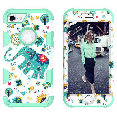 Buy MINT Modern Animal Pattern Design Cover Case for iPhone 8 for $4.76 in GearBest store