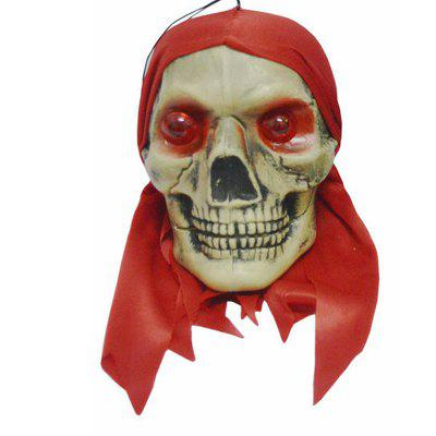MCYH y48 Halloween Decoration Glowing Skull 1pc