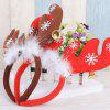 Best Gift Head Band Christmas Ear Decorations 2PCS - RED