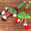 Merry Christmas Creative Gift Red Wine Gift Bag 2PCS - COLORFUL