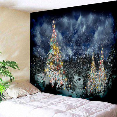 Wall Hanging Christmas Cedar Print Tapestry