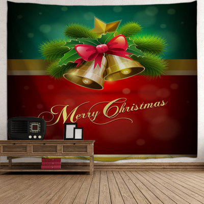 Wall Decor Merry Christmas Bell TapestryTapestries<br>Wall Decor Merry Christmas Bell Tapestry<br><br>Feature: Removable, Washable<br>Material: Polyester<br>Package Contents: 1 x Tapestry<br>Shape/Pattern: Print<br>Style: Festival<br>Theme: Christmas<br>Weight: 0.1800kg