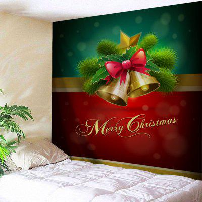Wall Decor Merry Christmas Bell Tapestry