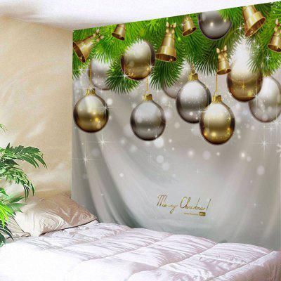 Christmas Ornaments Bell Wall Tapestry