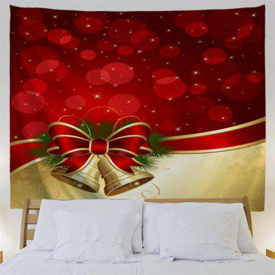 Christmas Bowknot Bell Wall Hanging TapestryTapestries<br>Christmas Bowknot Bell Wall Hanging Tapestry<br><br>Feature: Removable, Washable<br>Material: Polyester<br>Package Contents: 1 x Tapestry<br>Shape/Pattern: Print<br>Style: Festival<br>Theme: Christmas<br>Weight: 0.2700kg