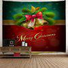 Wall Decor Merry Christmas Bell Tapestry - COLORMIX