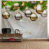 Christmas Ornaments Bell Wall Tapestry - GRAY