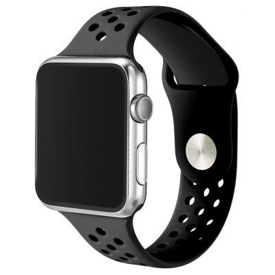 Simple Breathable Silicone Watchband for 42mm Apple Watch